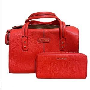 Cole Haan Emma Satchel Top Handle Bag & Wallet